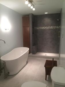 Brick House Renovation | Redone bathroom