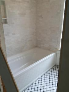Brick House Renovation | Bathtub