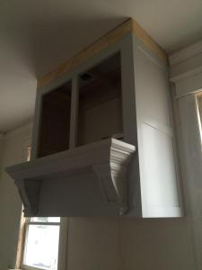 Brick House Renovation | Stove Hood