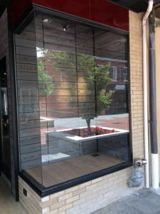 Bells project | Exterior display case